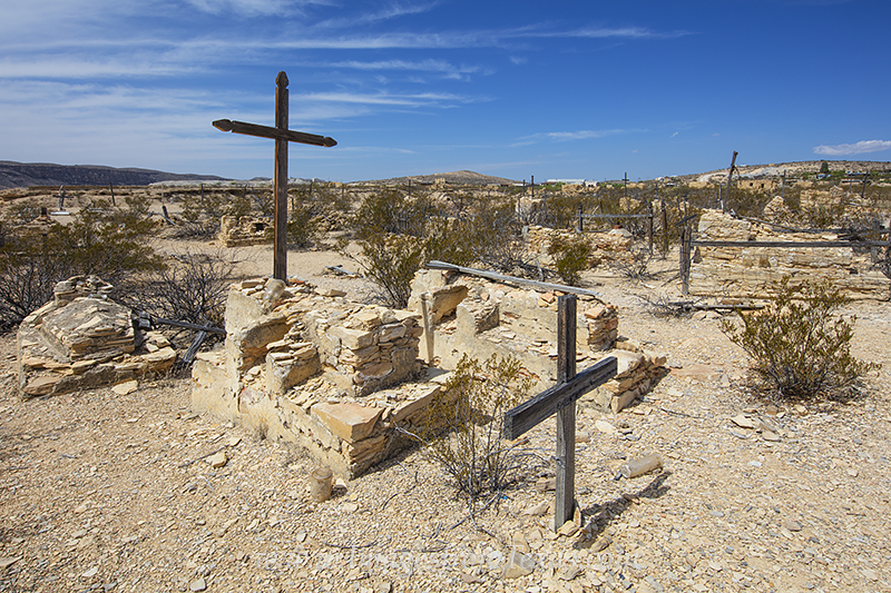 big bend national park,terlingua,graveyard,ghost town, photo