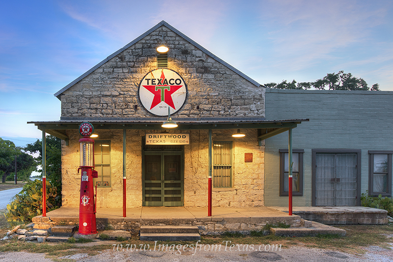Texaco,Driftwood,Texas Hill Country,Old Gas Station,Antique Gas station, photo