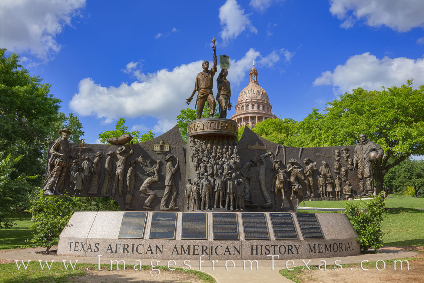 African American Memorial, Monument, state capitol, juneteenth, texas african american history memorial, photo