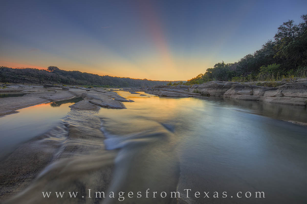 Texas Hill Country, Texas sunrise, Texas state parks, pedernales river, pedernales falls state park, pedernales falls, texas landscapes, photo