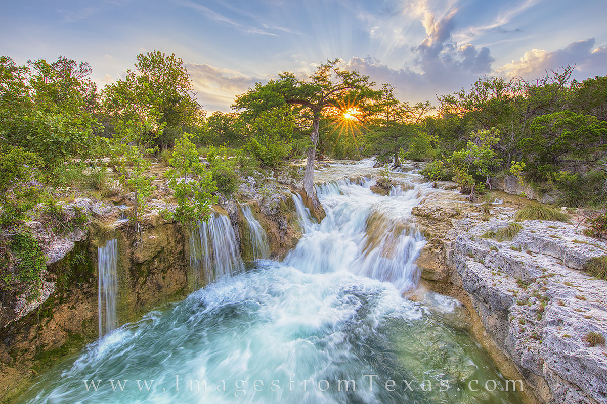 Texas Hill Country Waterfall 1 Texas Hill Country