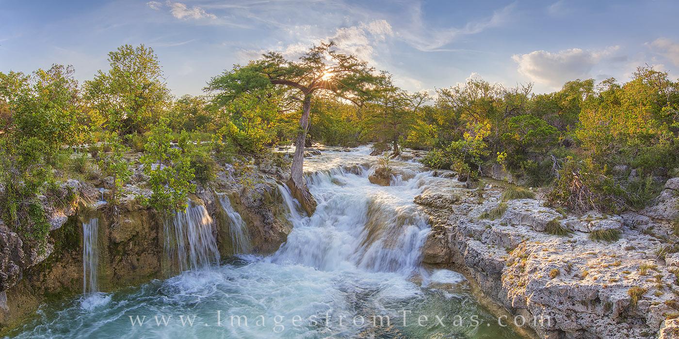 texas hill country, texas waterfall, texas hill country photos, hill country waterfall, hill country sunset, texas sunset images, texas waterfall photos, texas, photo