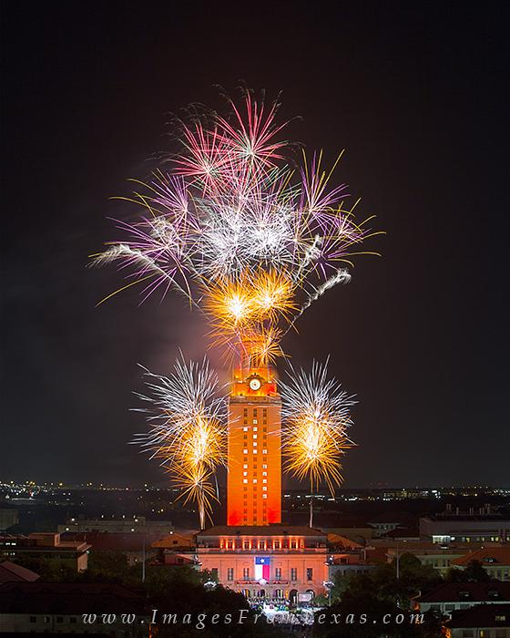 UT Tower prints,UT Tower graduation,UT Tower fireworks,Texas tower fireworks, photo