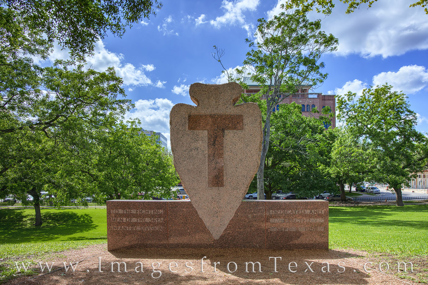Texas National Guard, texas capitol, 36th infantry, t-patch, photo