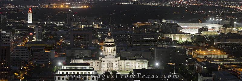 austin skyline photos,texas state capitol,UT football stadium,austin prints,texas capitol prints,austin skyline prints, photo