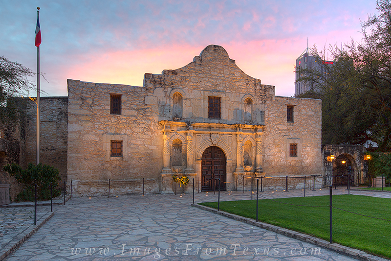 alamo prints,alamo sunrise,san antonio photos,texas,historical monuments, photo