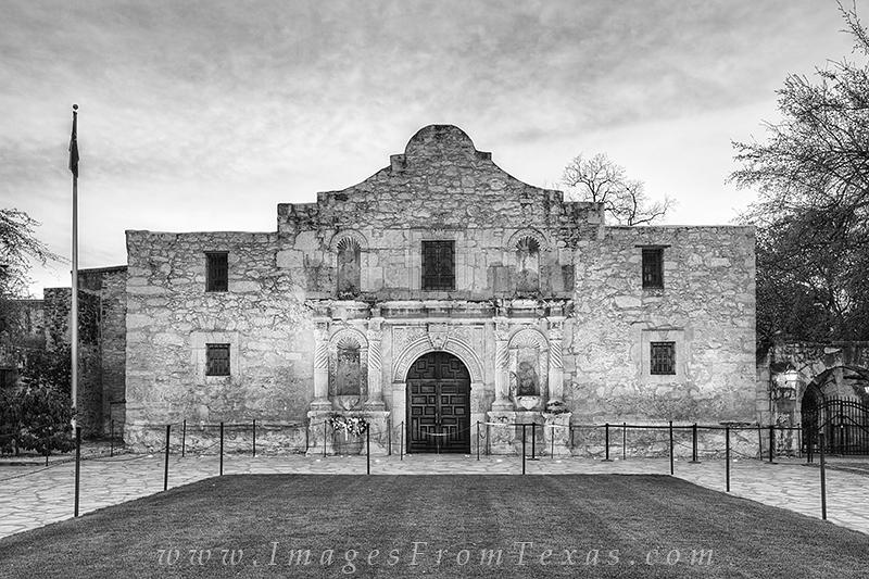 black and white,Alamo,San Antonio,prints, photo