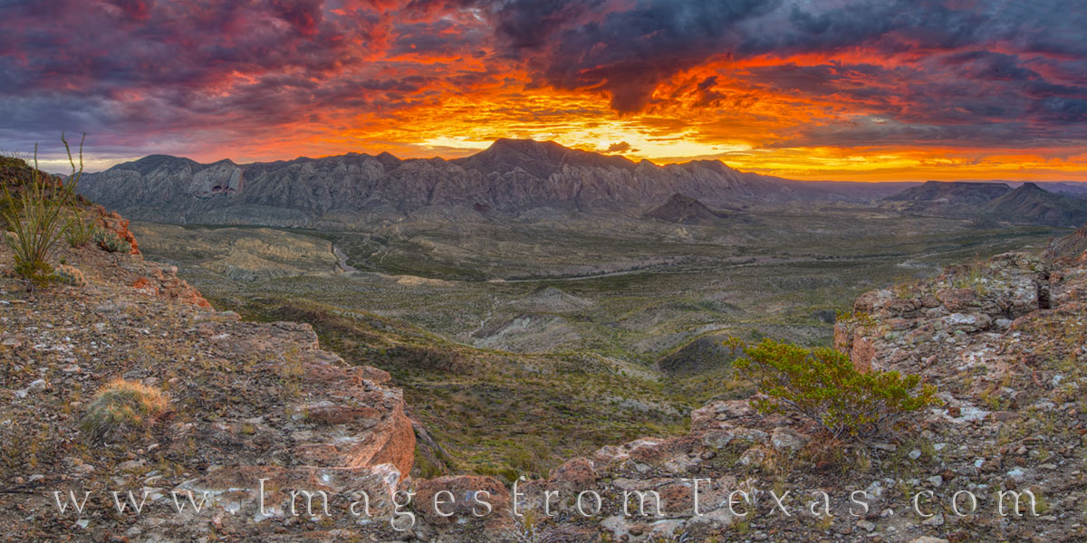 big bend ranch, solitario, fresno canyon, west texas, remote, texas landscape, texas state park, sunrise, morning, orange, red, yellow, photo