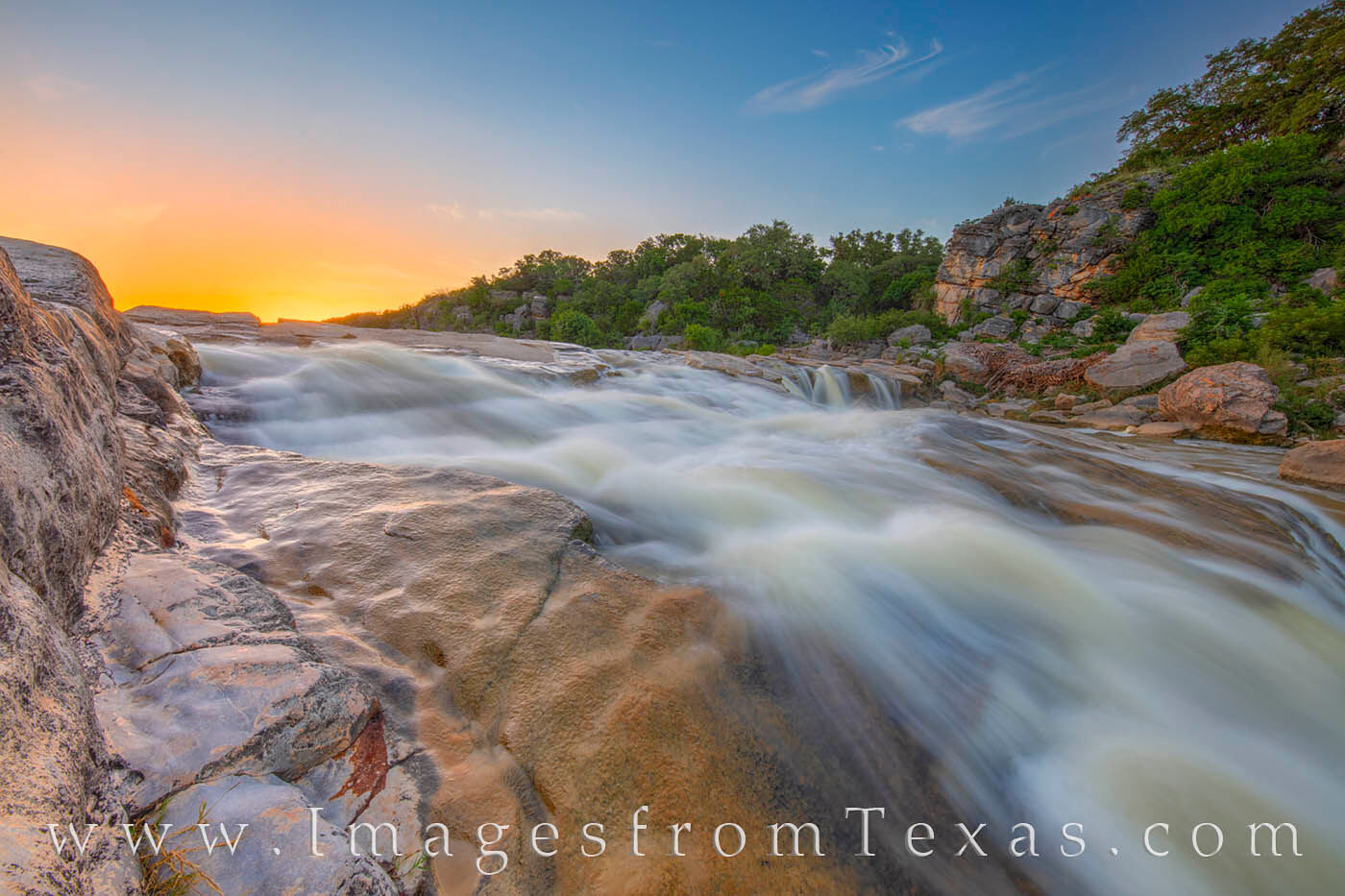I loved the pastel colors on this evening along the edge of the Pedernales River. The water was a bit higher than usual after...