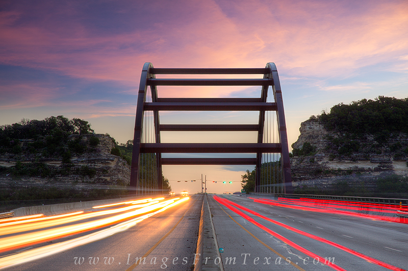 360 Bridge traffic,Pennybacker bridge traffic, photo