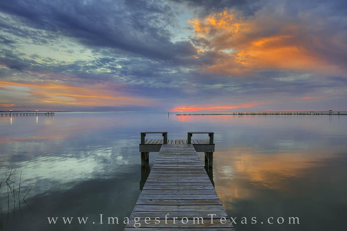 Rockport texas, copano bay, texas coast, fishing pier, texas sunset, texas coast, texas shoreline, texas landscapes, texas twilight, texas evening colors, texas pier, photo