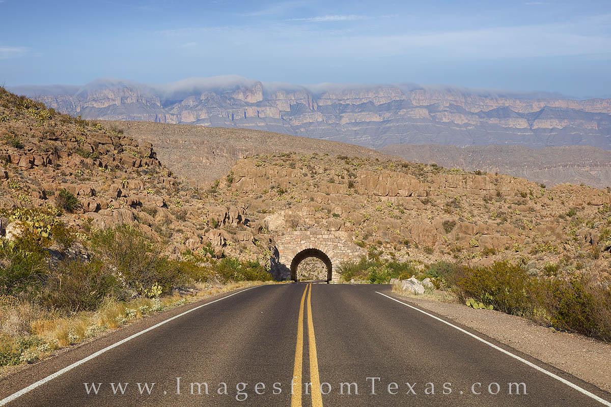 big bend national park, tunnel, rio grande village, big bend images, sierra del carmen, photo