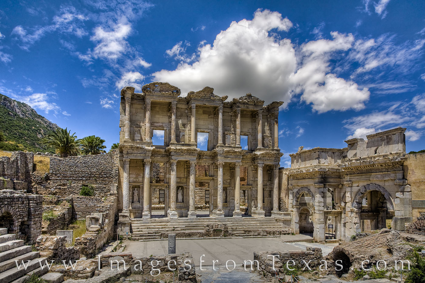 The Library of Celsus dates to 117 AD and is an ancient Roman building in Ephesus, Anatolia, now part of Selçuk, Turkey. Celsus...