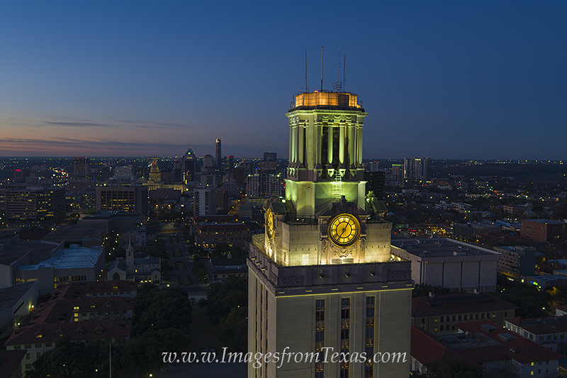 UT Tower,Texas Tower,Austin images,aerial images,aerial images of austin,University of Texas campus,Texas tower images, photo