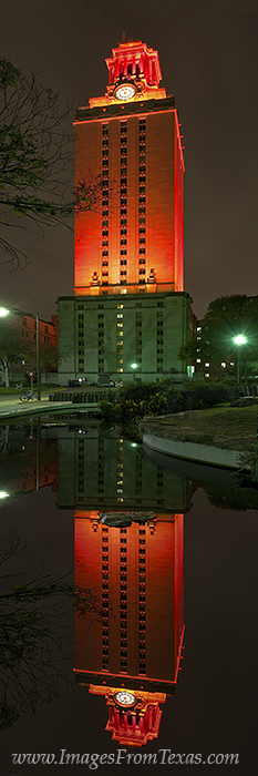 UT Tower panorama,UT Tower prints,Texas tower, photo