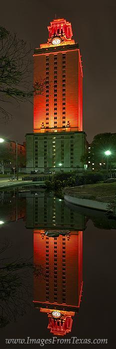UT Tower panorama,UT Tower prints,Texas tower, photo