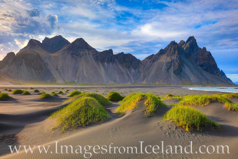 The Vestrahorn, also known as Stokksnes, is one of the main attractions of the Hornafjörður region near Höfn. It is a 454...