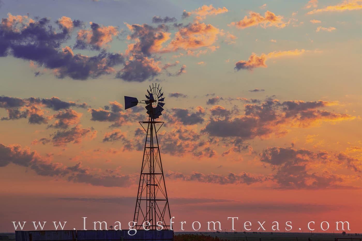 windmill, canyon, palo duro, west texas, sunrise, photo