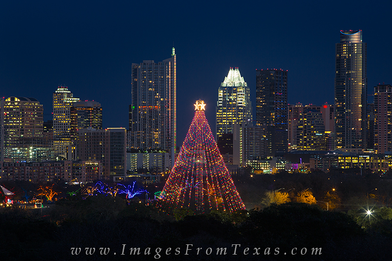 zilker park tree,austin christmas tree,zilker chirstmas tree,austin christmas images, photo
